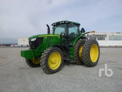 2015 JOHN DEERE 6175R MFWD Tractor