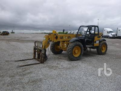 2004 CATERPILLAR TH360B 7000 Lb 4x4x4 Telescopic Forklift
