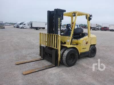 HYSTER H80XM 7600 Lb Forklift
