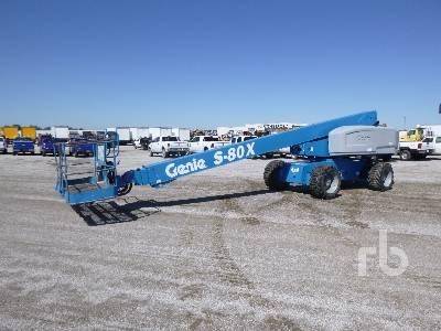 2013 GENIE S-80X 4x4 Boom Lift