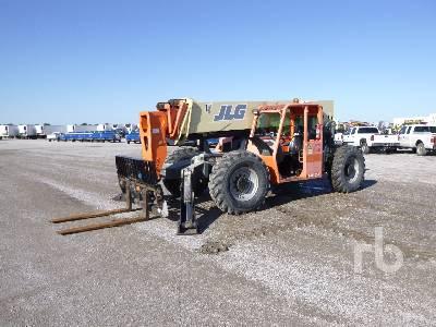 2008 JLG G10-55A 10000 Lb 4x4x4 Telescopic Forklift