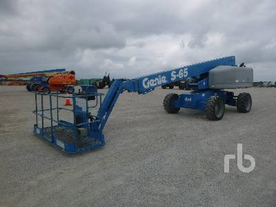 2012 GENIE S-65 4x4 Boom Lift