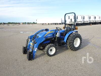 2011 NEW HOLLAND BOOMER 35 4WD Utility Tractor