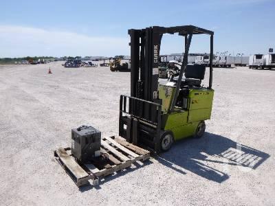 CLARK EC500-S30 1575 Lb Electric Forklift