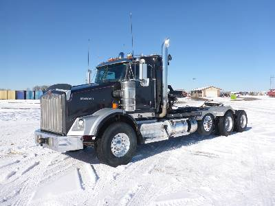 2013 KENWORTH T800 Wide Nose Tri/A Winch Tractor