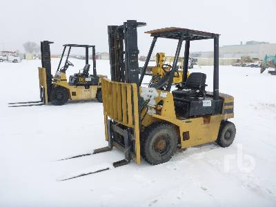 HYSTER H40XL 4500 Lb Forklift