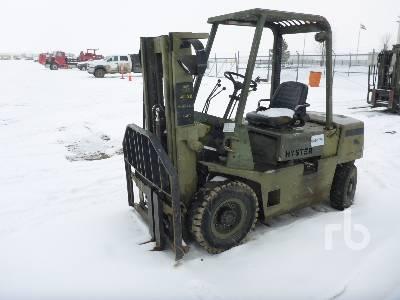 1989 HYSTER H40XLM 4000 Lb Forklift