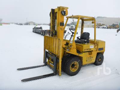 HYSTER H60XL 6000 Lb Forklift