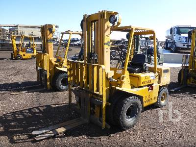 1989 HYSTER H60XL 6000 Lb Forklift