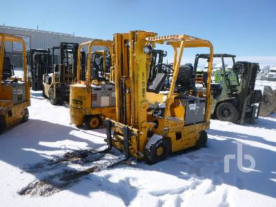 1991 HYSTER EX40XL 4000 Lb Electric Forklift