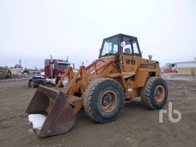 1982 CASE W18 Wheel Loader