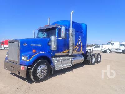2015 WESTERN STAR 4900SF Sleeper Truck Tractor (T/A)