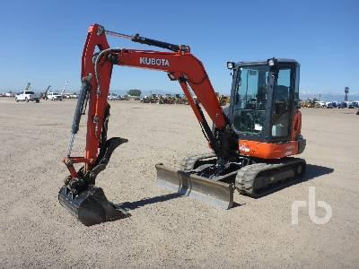 2018 KUBOTA KX040-4 Mini Excavator (1 - 4.9 Tons)