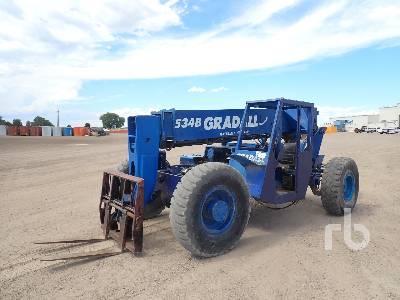 GRADALL 534B-8 9000 Lb 4x4 Telescopic Forklift