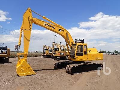 1989 JOHN DEERE 790D Hydraulic Excavator