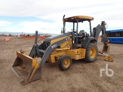 2008 JOHN DEERE 310J Loader Backhoe
