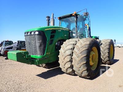2011 JOHN DEERE 9630 Scraper Special 4WD Tractor