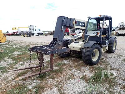 2002 INGERSOLL-RAND VR530 5300 Lb 4x4x4 Telescopic Forklift Parts/Stationary Construction-Other
