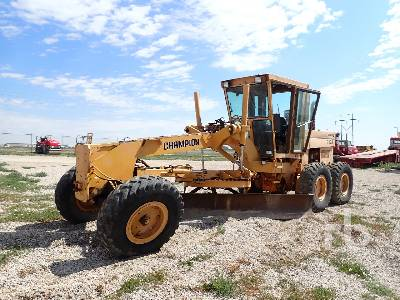 1987 CHAMPION 710A Motor Grader Parts/Stationary Construction-Other