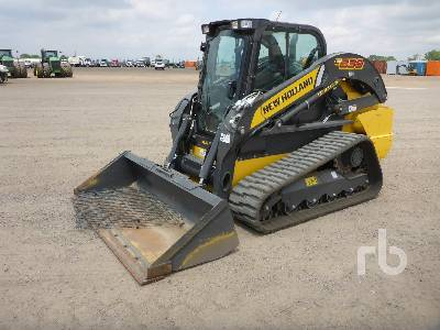 2018 NEW HOLLAND C238 2 Spd Compact Track Loader