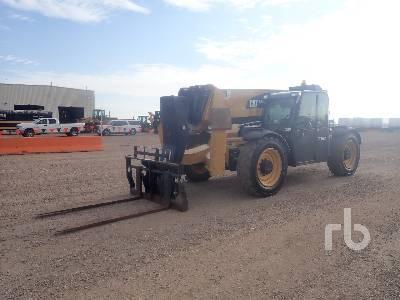 2015 CATERPILLAR TL1055C 10000 Lb 4x4x4 Telescopic Forklift