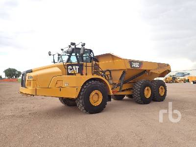 2016 CATERPILLAR 745C Articulated Dump Truck