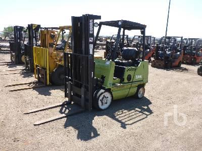 1992 CLARK GCX20 2000 Lb Forklift