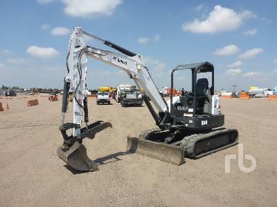 2013 BOBCAT E50M Mini Excavator (1 - 4.9 Tons)