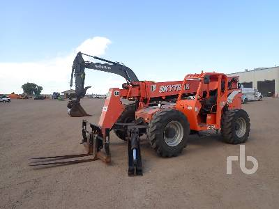 2007 JLG 10054 10000 Lb 4x4x4 Telescopic Forklift