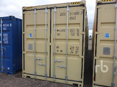 2019 40 Ft One Way Container