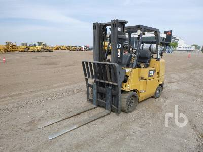 2007 CATERPILLAR GC40KLP 8000 Lb Forklift