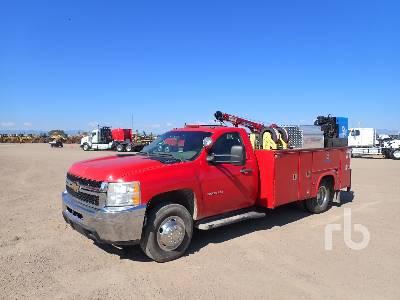 2020 CHEVROLET 3500 4x4 Mechanics Truck