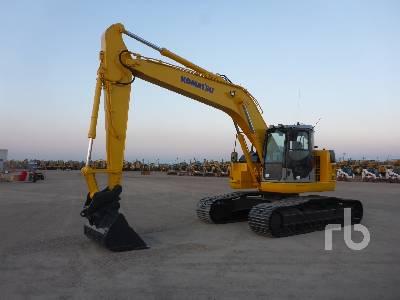 2008 KOMATSU PC228USLC-3E0 Hydraulic Excavator
