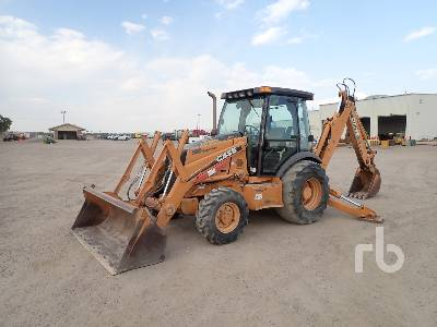 2005 CASE 580SM+ Series 2 4x4 Loader Backhoe