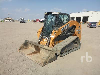 2013 CASE TV380 Compact Track Loader