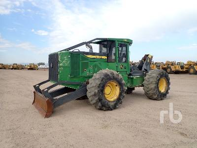 2016 DEERE 640L Rubber-Tired Skidder