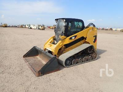 2011 CATERPILLAR 277C 2 Spd High Flow Multi Terrain Loader