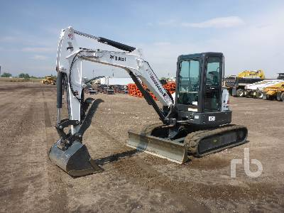 2018 BOBCAT E50 Mini Excavator (1 - 4.9 Tons)