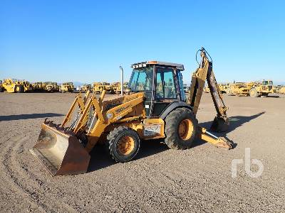 1997 CASE 590SL 4x4 Loader Backhoe