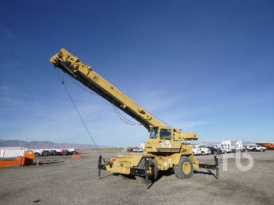 1981 GROVE RT522 22 Ton 4x4x4 Rough Terrain Crane