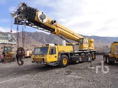 2002 GROVE GMK5120B 120 Ton 10x8x8 All Terrain Crane