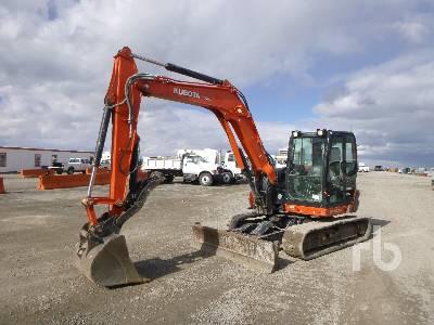2017 KUBOTA KX080-4S Midi Excavator (5 - 9.9 Tons)