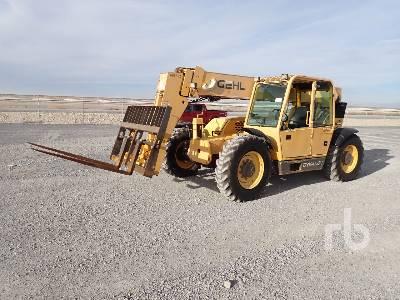 2001 GEHL DL8H 8000 Lb 4x4x4 Telescopic Forklift