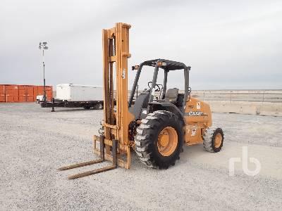 2008 CASE 586G 6000 Lb 4x4 Rough Terrain Forklift