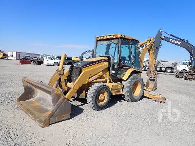 2004 CATERPILLAR 430D 4x4 Loader Backhoe