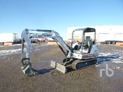 2007 BOBCAT 331G Mini Excavator (1 - 4.9 Tons)