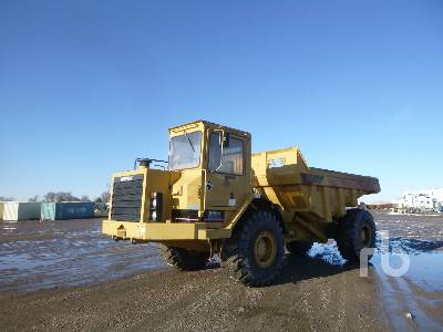 1987 CATERPILLAR D25C Articulated Dump Truck