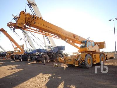 2007 TADANO TR800XXL-4 80 Ton 4x4x4 Rough Terrain Crane