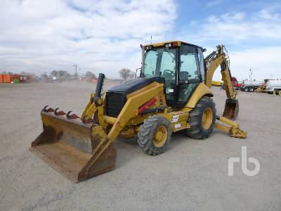 2007 CAT 420E Loader Backhoe