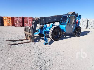 2005 TEREX TH1056C 10000 Lb 4x4x4 Telescopic Forklift
